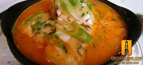 Cazuela, gastronomia chiclanera