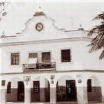 Edificio del Ayuntamiento de Sancti Petri, fotografía antigua