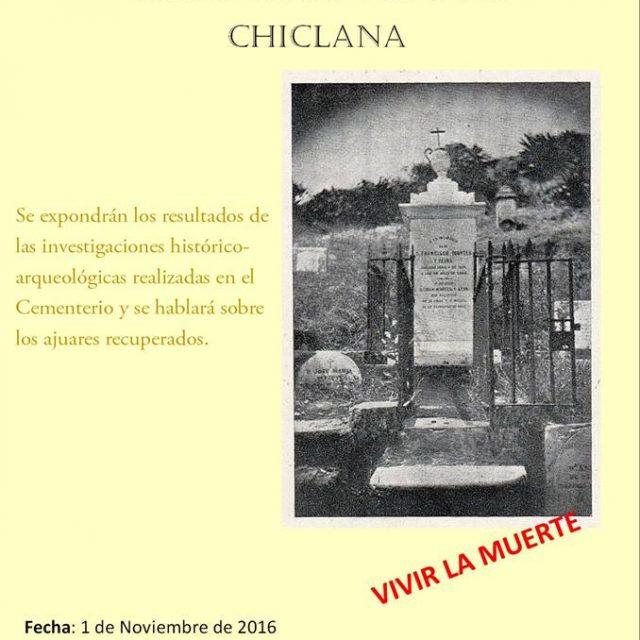 Visita guiada al Cementerio Viejo de Chiclana