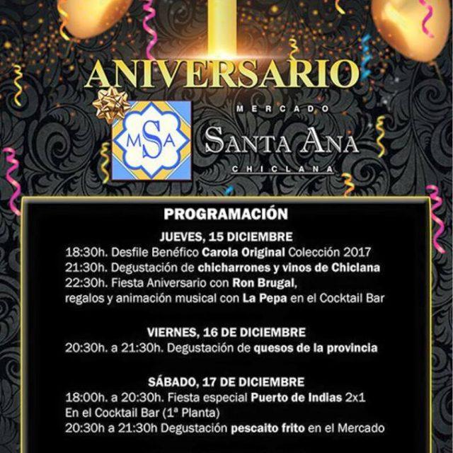 I Aniversario Mercado Santa Ana