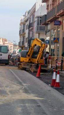 La calle Mendizábal se abrirá al tráfico en septiembre