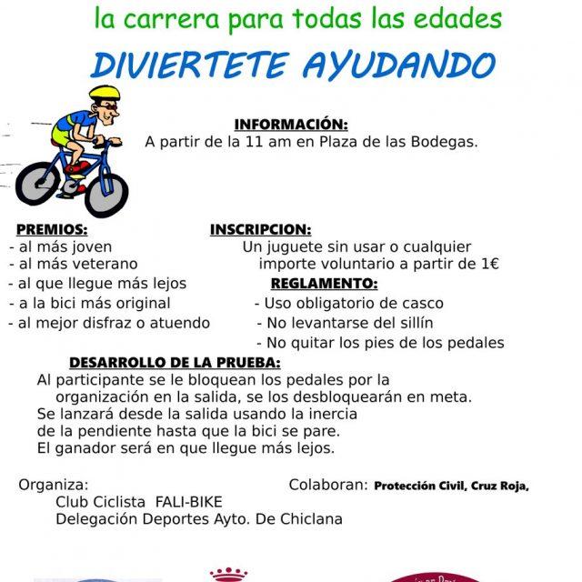 "II Carrera en Bici ""Ningún Niño Sin Juguete"""