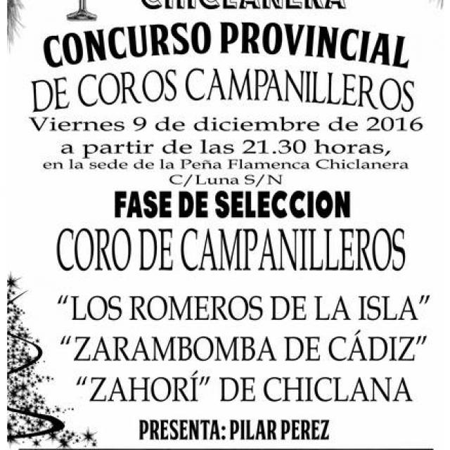 Concurso Provincial de Coros Campanilleros
