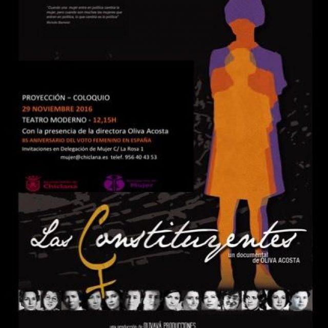 """Proyección del documental """"Las Constituyentes"""""""