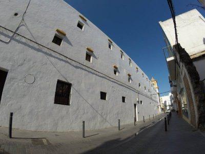 Imagen de las ventanas de las celdas del Convento Jesus Nazareno