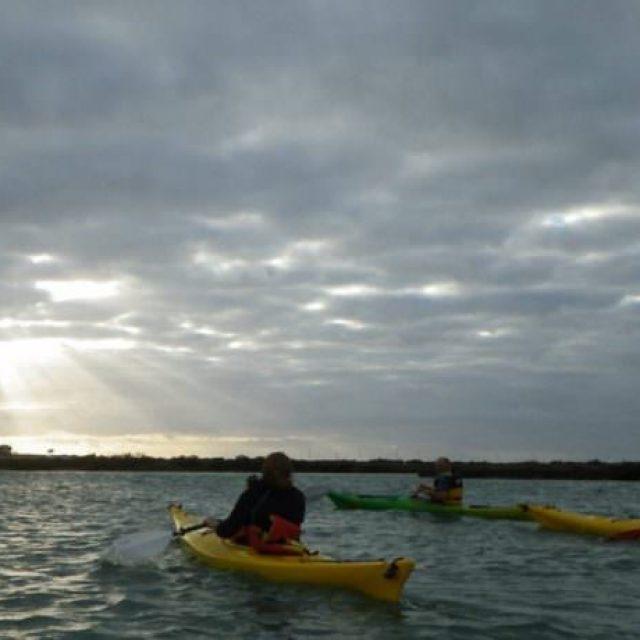 Ruta en Kayak por el castillo de Sancti Petri y las marismas