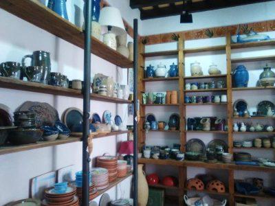 Interior de la tienda