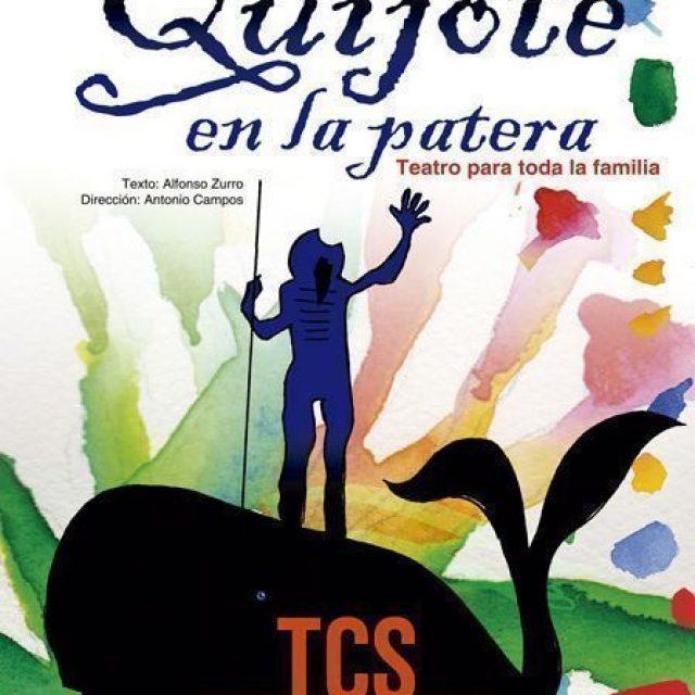 «Don Quijote en la patera», teatro para toda la familia