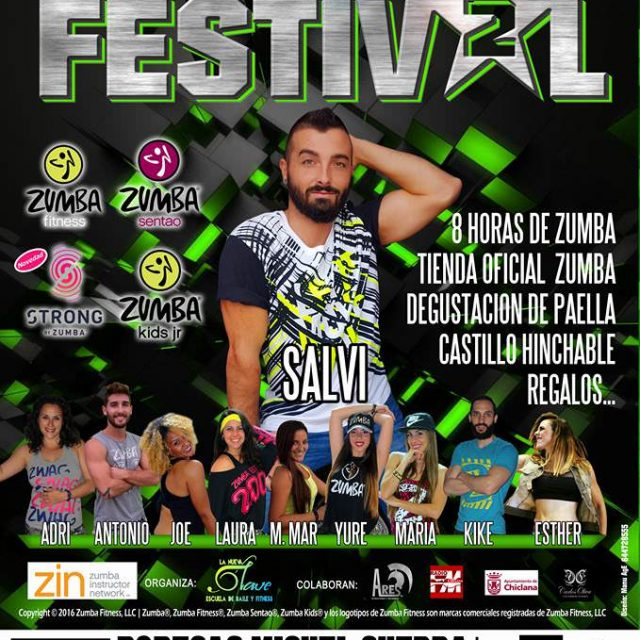 Zumba Festival Chiclana 2016