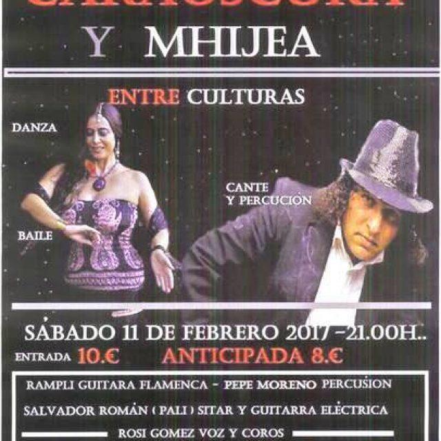 Noche árabe-flamenca «Caraoscura y Mijhea»