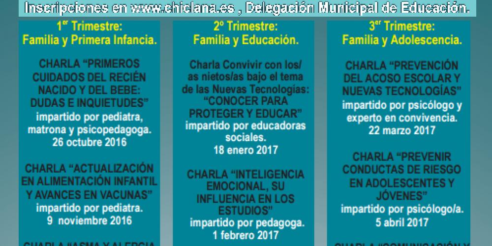 Plan Educativo de Formación a Familias