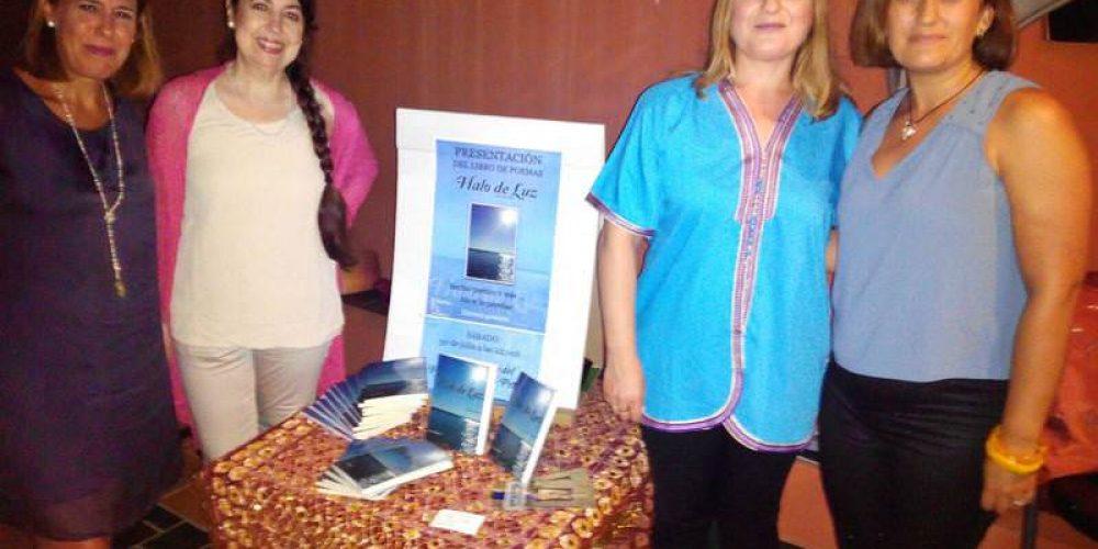 Isabel López presenta su libro «Halo de Luz»