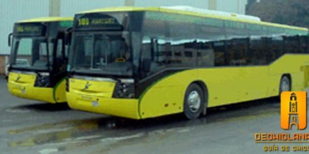 Horario de los autobuses en verano
