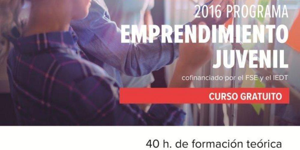 Ya está en marcha el programa formativo para jóvenes emprendedores