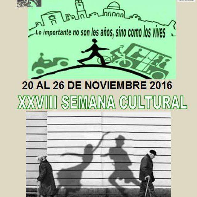 XXVIII Semana Cultural del Centro de Mayores San Antonio