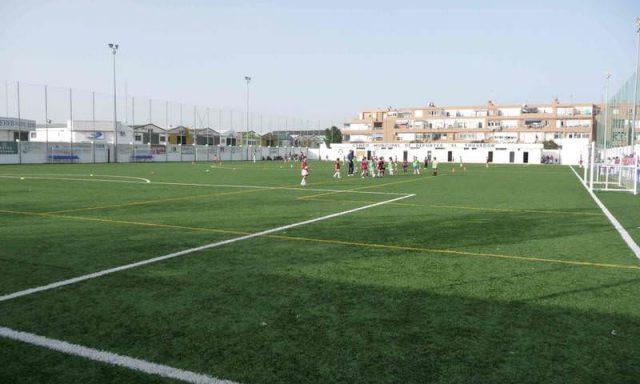 """Campo de Fútbol C.E.I.P. """"El Trovador"""""""