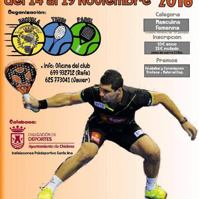 Torneo Social de Pádel 2016