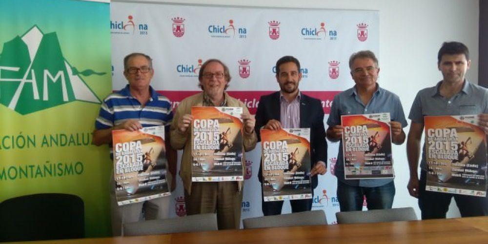 Chiclana acoge la Copa de Andalucía de Escalada en Bloque