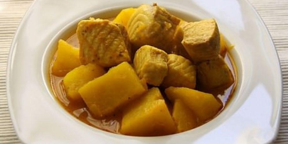 Patatas con Cazón