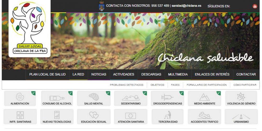 Nueva página web del Plan Local de Salud