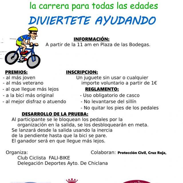 II Carrera en Bici «Ningún Niño Sin Juguete»