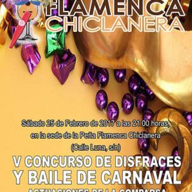 V Concurso de disfraces de la Peña Flamenca