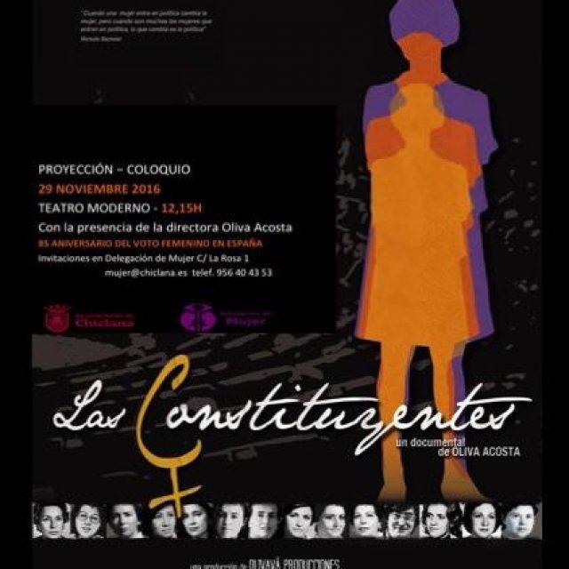 Proyección del documental «Las Constituyentes»