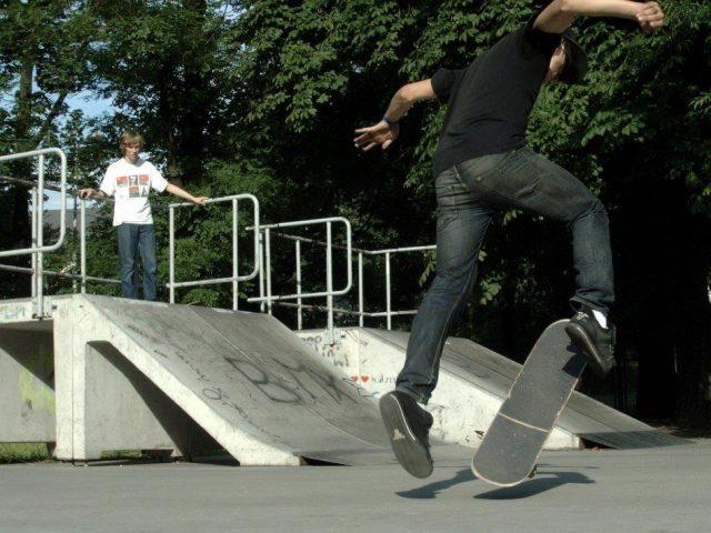 "Pista de Skate del Parque Municipal ""Santa Ana"""