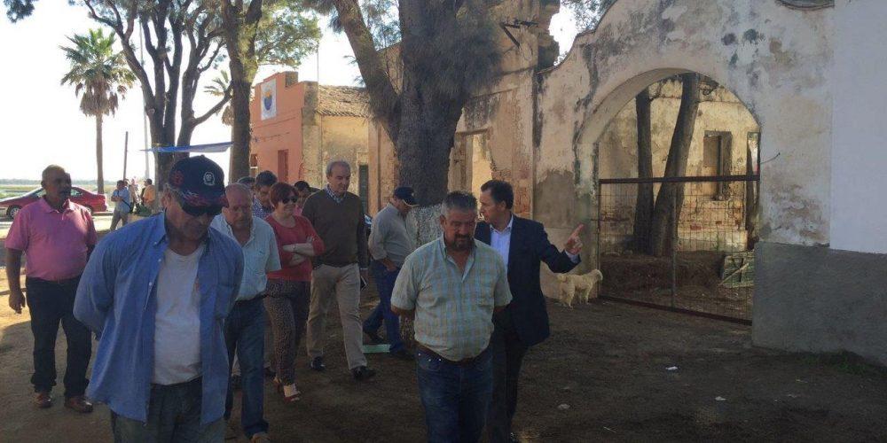 Visita al poblado de Sancti Petri