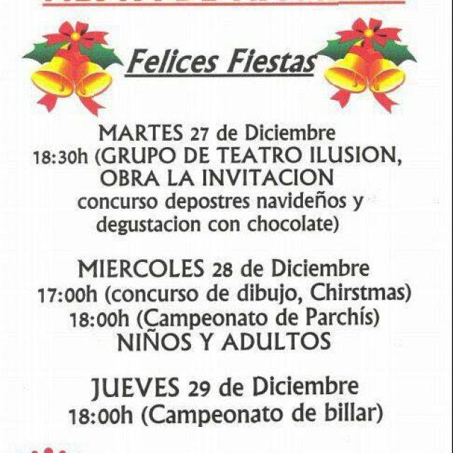 Fiesta de Navidad de la AVV Recreo de San Pedro