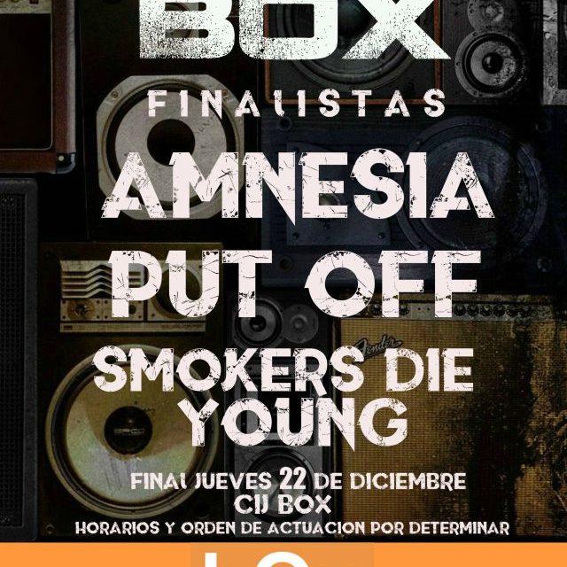 Final I Certamen «Rock in Box»