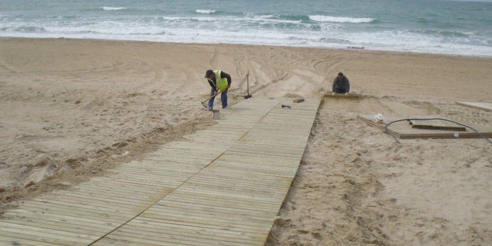 El litoral chiclanero el más accesible de Andalucía