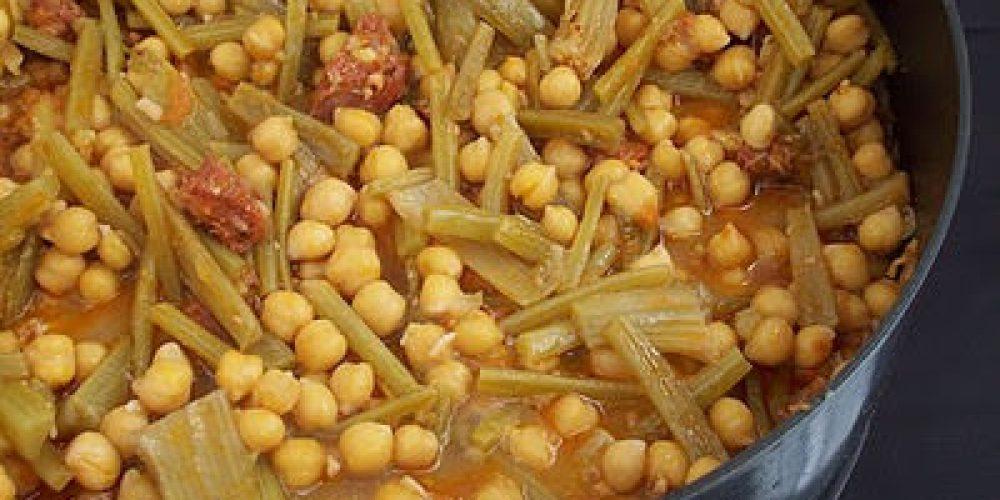 Potaje de tagarninas chiclanero
