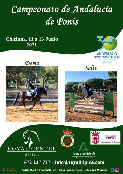 Campeonato de Andalucía de Ponis en Royal Center Hípica
