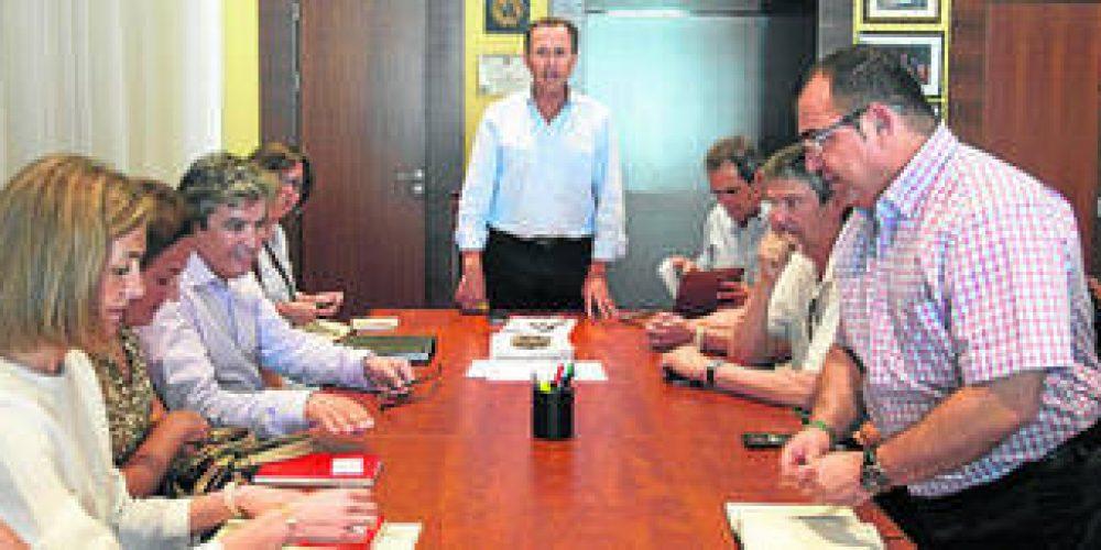 Primera reunión entre empresarios y el nuevo Gobierno local