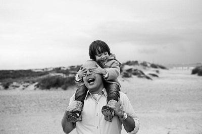 Fotos de padres e hijos. Fotografía María Benitez