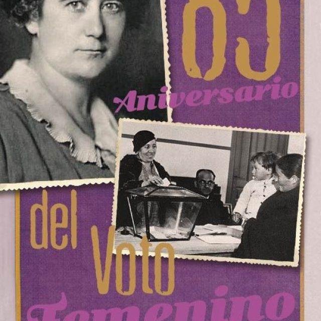 85º Aniversario del Voto Femenino