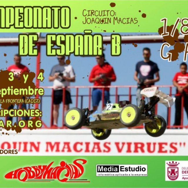 Campeonato de España de Radio Control 1/8 TT Gas