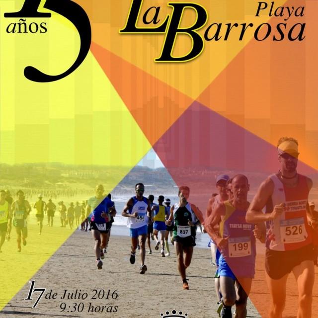 Carrera Popular Playa La Barrosa 2016