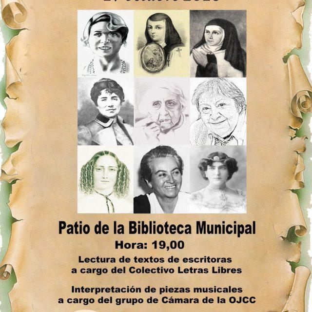 Día de las Escritoras en Chiclana