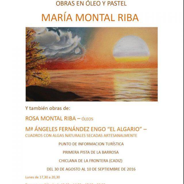 "Exposición ""Universo de Colores"" de María Montal Riba"