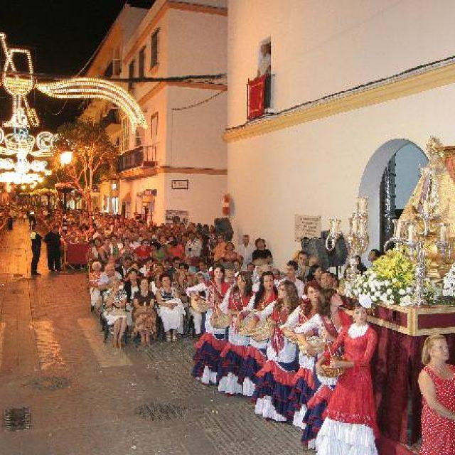 Eventos de celebración de la Festividad de la Patrona