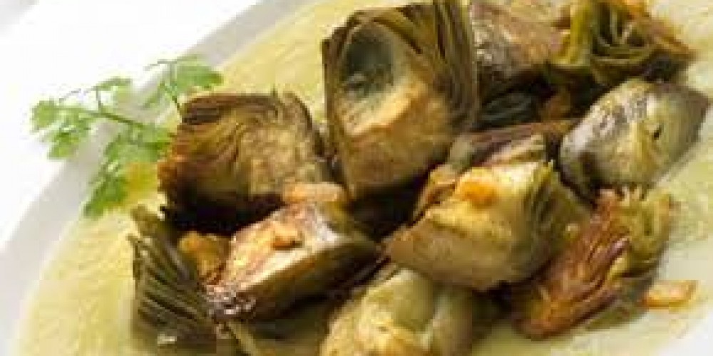 Patatas con alcachofas chiclana - Arroz con alcachofas y jamon ...