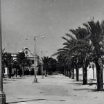 Calles del Poblado de Sancti Petri, fotografía antigua