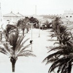 Calles de Sancti Petri, fotografía antigua