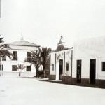 Entrada al Mercado de Sancti Petri, fotografía antigua