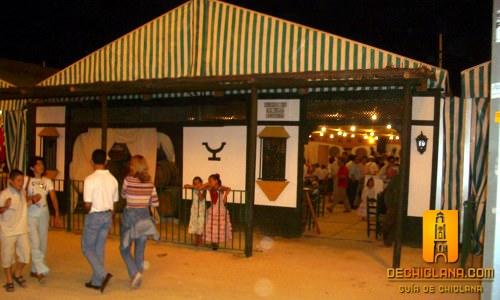 """Feria de Chiclana, caseta """"Amigos de la Teja"""""""