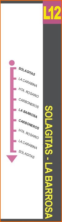 Linea 12 de Autobuses de Chiclana