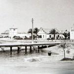 Muelle de Sancti Petri, fotografía antigua
