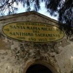 Mosaico del pabellón de Santa María, CNA Sancti Petri, foto de Pepe Michenea